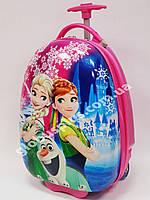 Детский чемодан дорожный на колесах «Холодное Сердце» Frozen-9, 520365