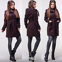 Женское стильное пальто  АЦ963, фото 1