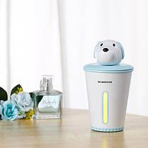 Podarki Мини увлажнитель воздуха humidifier Puppy Blue