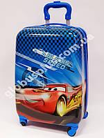 """Детский чемодан дорожный на колесах 18"""" «Тачки» Cars-11, 520374"""