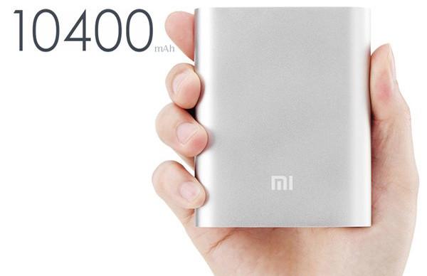 Портативное зарядное устройство Xiaomi Mi 10400mAh