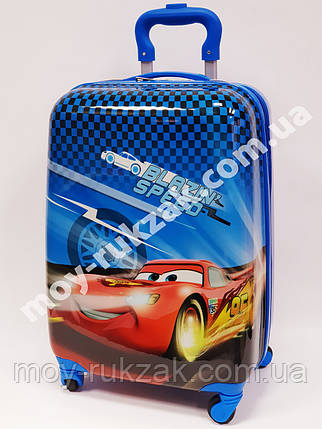 """Детский чемодан дорожный на колесах 18"""" «Тачки» Cars-11, 520374, фото 2"""