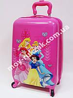 """Детский чемодан дорожный на колесах 18"""" «Принцессы» Princess-6, 520375"""