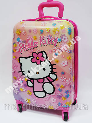 "Детский чемодан дорожный на колесах 18"" «Хелло Китти» Hello Kitty-5, 520378, фото 2"