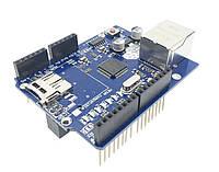 Модуль Arduino R3 W5100 Ethernet Micro SD Card, фото 1
