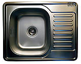 Кухонная мойка Galaţi Donka Satin 63*50 матовая, фото 3