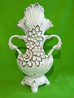 Керамическая напольная ваза «Фантазия» (лепка)