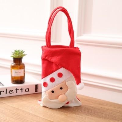 Новогодние подарочные упаковки сумка для подарка