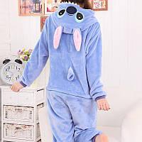 Пижама кигуруми Синий Стич