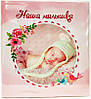 Фотоальбом 10x15/72 JOY 23х25см (72фото, анкета російською) блакитний, рожевий (Julia)