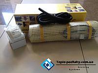 Мат электрический ( теплый пол без стяжки ) 6.4 м.кв .Регулятор в подарок.