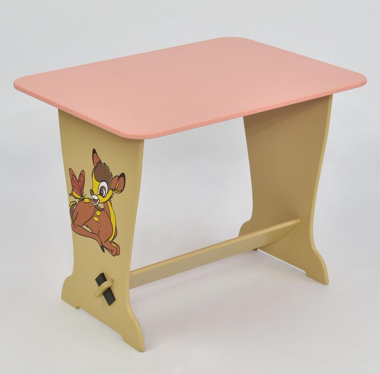 Мася Столик Мася 6232 Оленёнок Бэмби Pink (6232)