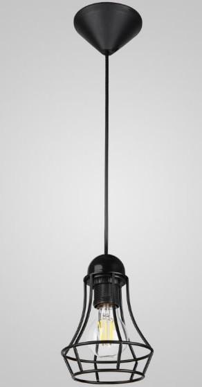 Люстра-подвес лофт черная AR-004518