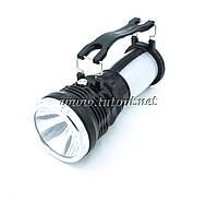 Фонарь аккумуляторный Yajia YJ-2891 1 LED + Боковая подсветка 360/180 Градусов