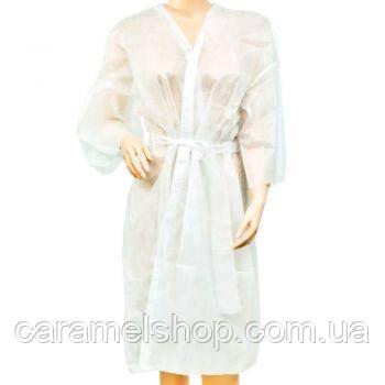Халат Doily кимоно - белый, L-XL