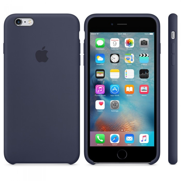 Apple Silicon Case for iPhone 6 Plus/6S Plus Midnight Blue