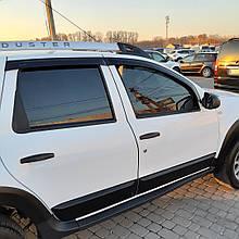 Дефлекторы окон (ветровики) клеющие / накладные Д/о Renault DACIA DUSTER c 2010 -> 5D 4шт (ANV-AIR)