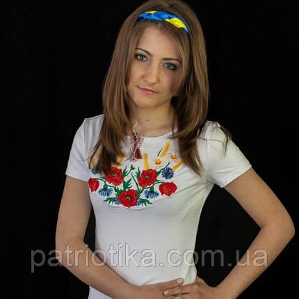 Женская вышиванка Лето | Жіноча вишиванка Літо, фото 2