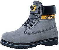 Зимние мужские ботинки Caterpillar Boots Grey
