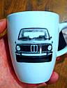 Кружка BMW 2002 Heritage Mug, фарфоровая оригинальная белая  (80232450993), фото 5
