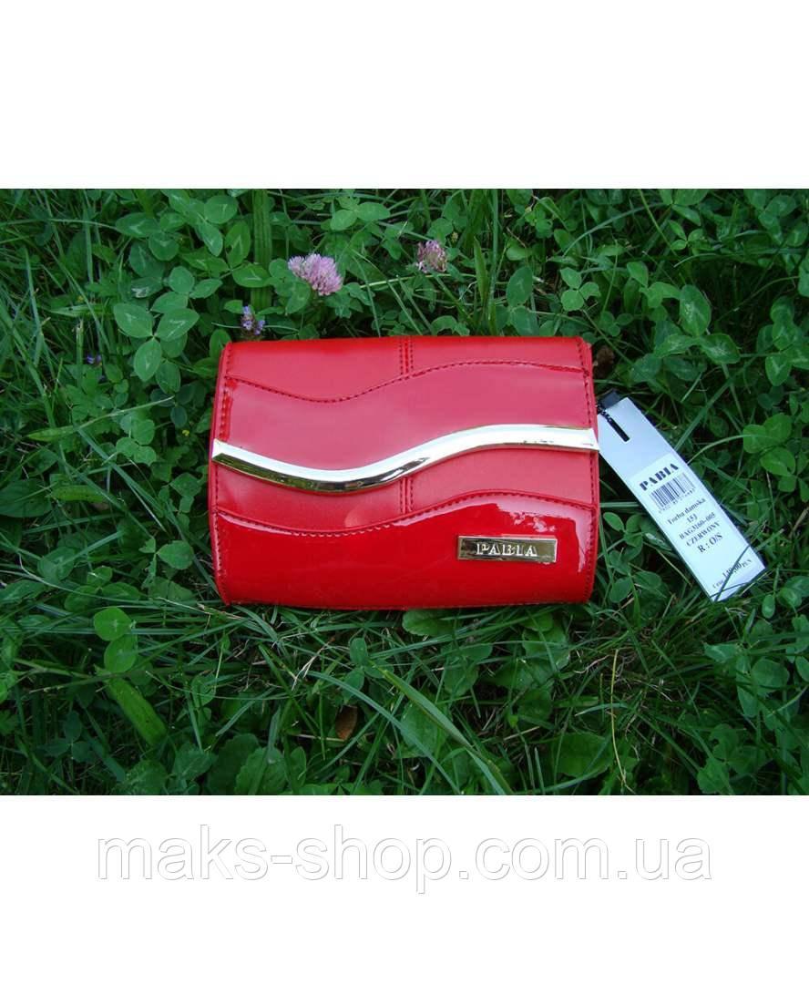 855ba28168f1 Вечерний яркий ,лаковый- клатч Pabia P PAB 3160 J15 Красный - Maks Shop-