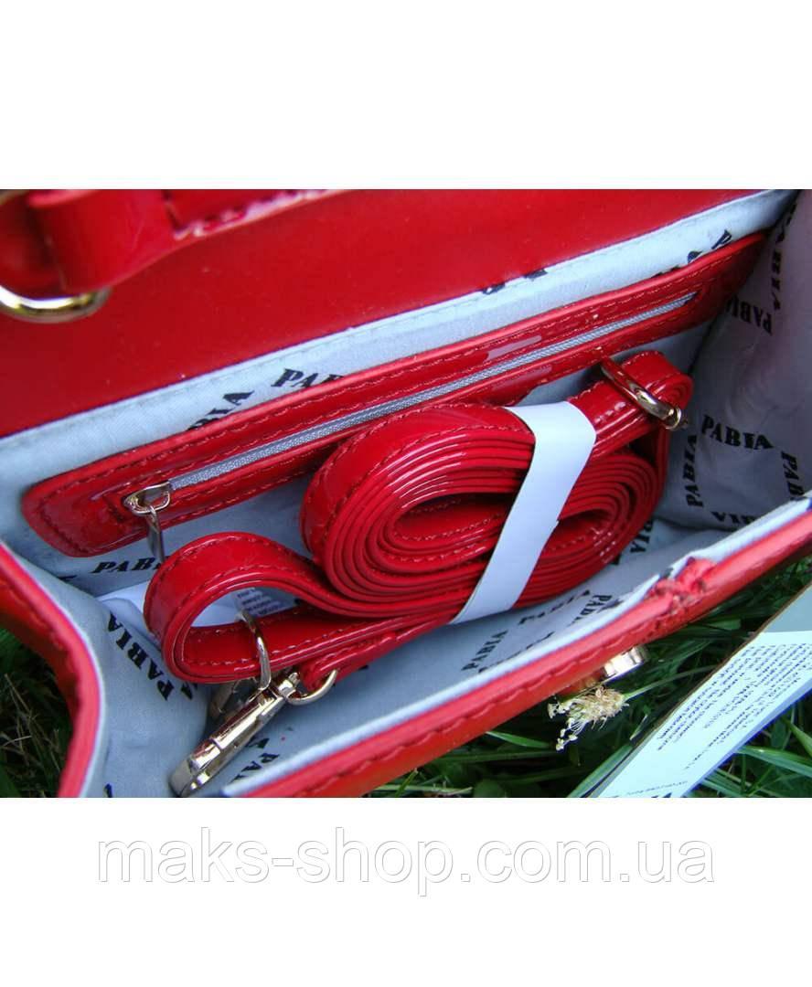 d28bb2cc2d60 Вечерний яркий ,лаковый- клатч Pabia P PAB 3160 J15 Красный, цена 882 грн.,  купить в Киеве — Prom.ua (ID#804614254)