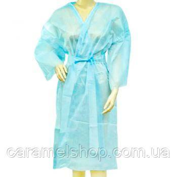 Халат Doily кимоно - синий, L-XL