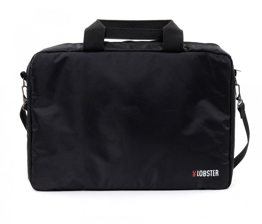 Сумка для ноутбука 15.6' Lobster LBS15T1B, Black, полиэстер, 41 х 29 х 3.7 см