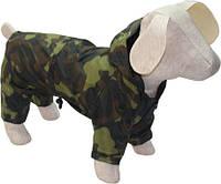 Дождевик  для собаки камуфляж