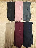 Трикотаж женские перчатки Эластичный(только ОПТ), фото 1