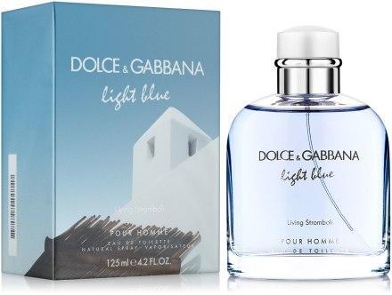 Мужской аромат Dolce&Gabbana Ligth Blue Living Stromboli