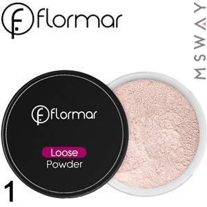 FlorMar - Пудра рассыпчатая Loose Powder Тон 01 pale sand, холодный тон, фото 2