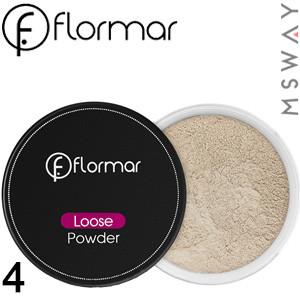 FlorMar - Пудра рассыпчатая Loose Powder Тон 04 beige sand, прозрачная