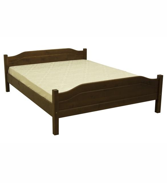 Ліжко півтораспальне в спальню, дитячу з натурального дерева Л-201 Скіф