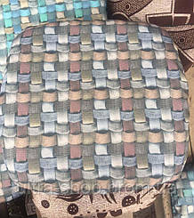 Чехлы на табуретки, упаковка 4шт + поролон  №110