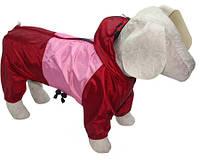 Дождевик для собаки с капюшоном для всех пород