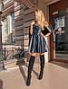 Платье, эко кожа. Размер: 42-44. Разные цвета. (73 /1), фото 5