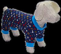 Комбинезон песочник для собак без застежек