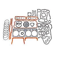 Комплект прокладок двигателя А-41, Д-442 объединенная ГБЦ полный+РТИ паронит