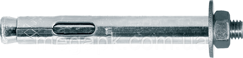Анкер однораспорный с гайкой М20х105мм (гайка М16)
