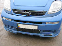 Зимняя решетка Opel Vivaro 2001-2006 верхняя