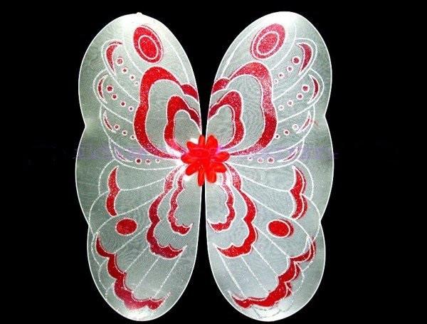 Крылья бабочки карнавальные большие 83 см.