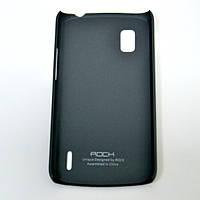Чехол-накоадка Rock HTC One SC naked shell series dark grey