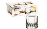 Набор стаканов  PASABAHCE Вальс 42943 235 мл 6 шт
