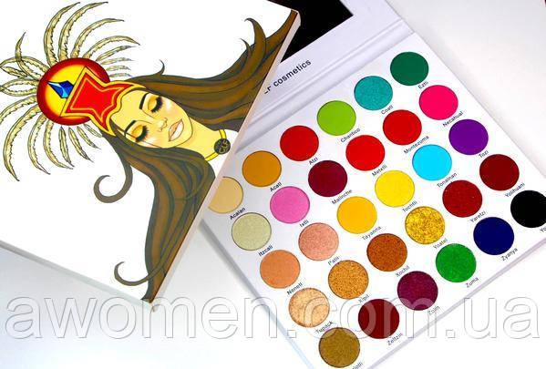 Тени для глаз Glf Cosmetics PRINCESA AZTECA (30 цветов)