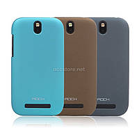 Чехол Rock HTC One ST naked shell series blue