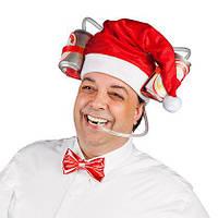 Шлем для пива Рождественская шапка колпачек деда Мороза