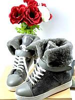 Женские ботиночки Prada со шнуровкой (реплика), фото 1