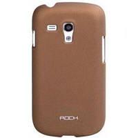 Чехол-накладка Rock HTC One SU naked shell series coffee