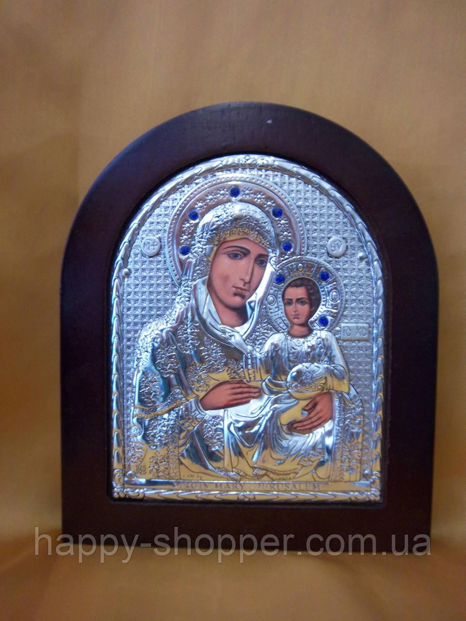 "Икона ""Божией Матери "" Ерусалимская 13 х 10"